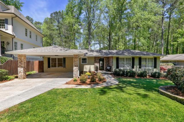 2663 Winding Lane NE, Brookhaven, GA 30319 (MLS #6539662) :: The Hinsons - Mike Hinson & Harriet Hinson