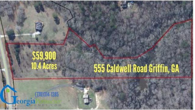 555 Caldwell Road, Griffin, GA 30223 (MLS #6540285) :: The Zac Team @ RE/MAX Metro Atlanta