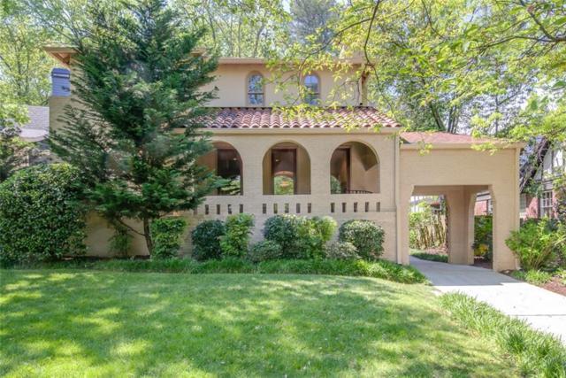 1609 Emory Road NE, Atlanta, GA 30306 (MLS #6541066) :: Iconic Living Real Estate Professionals