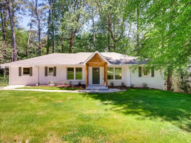 1295 Lenox Circle NE, Atlanta, GA 30306 (MLS #6541489) :: Path & Post Real Estate