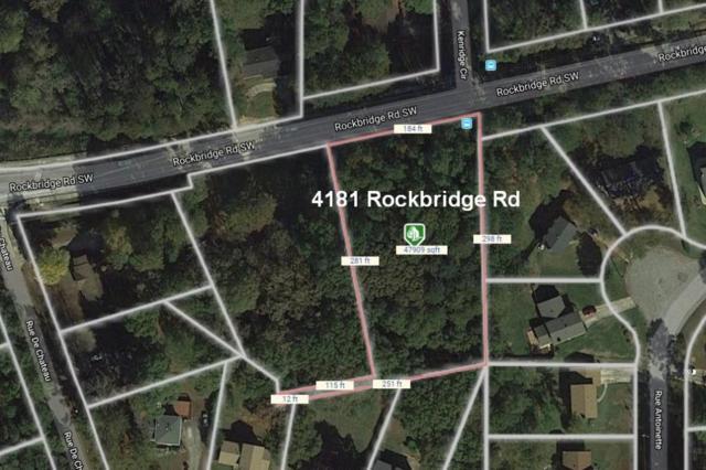 4181 Rockbridge Road, Stone Mountain, GA 30083 (MLS #6544415) :: RE/MAX Paramount Properties