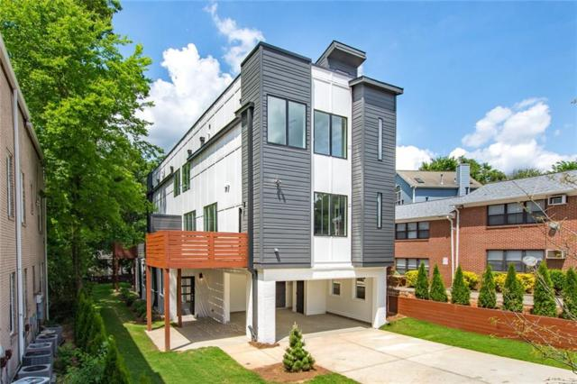 1010 Greenwood Avenue NE A, Atlanta, GA 30306 (MLS #6544664) :: Dillard and Company Realty Group
