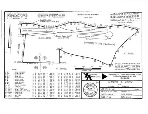 268 Elliott Road, Dawsonville, GA 30534 (MLS #6548735) :: Hollingsworth & Company Real Estate