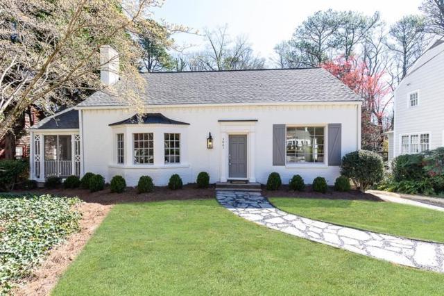 3861 Wieuca Terrace NE, Atlanta, GA 30342 (MLS #6548903) :: Iconic Living Real Estate Professionals