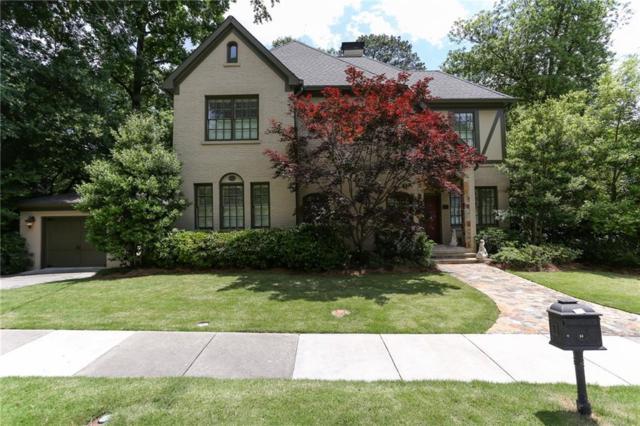 60 Park Circle NE, Atlanta, GA 30305 (MLS #6552175) :: Path & Post Real Estate