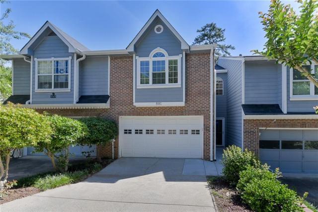 881 Edgewater Circle, Marietta, GA 30062 (MLS #6554304) :: Kennesaw Life Real Estate