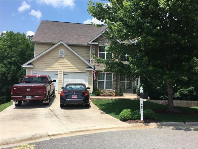 607 Tea Olive Way, Villa Rica, GA 30180 (MLS #6555802) :: The Zac Team @ RE/MAX Metro Atlanta