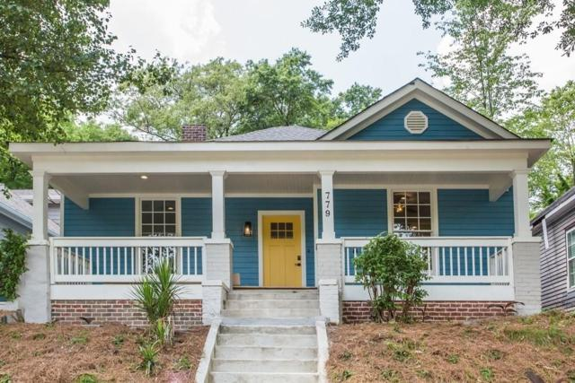 779 Tift Avenue SW, Atlanta, GA 30310 (MLS #6556909) :: Iconic Living Real Estate Professionals
