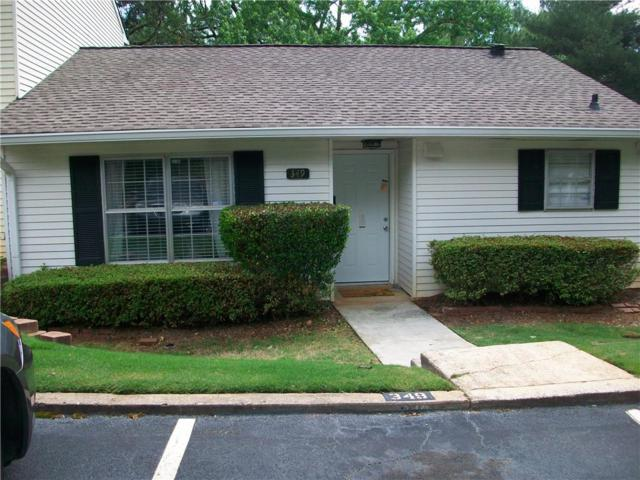 349 Leisure Court SW, Marietta, GA 30064 (MLS #6557602) :: The Zac Team @ RE/MAX Metro Atlanta