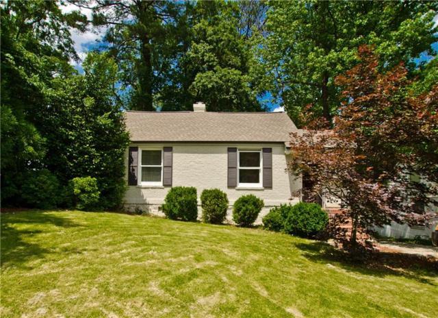 2337 Hurst Drive NE, Atlanta, GA 30305 (MLS #6559027) :: Charlie Ballard Real Estate