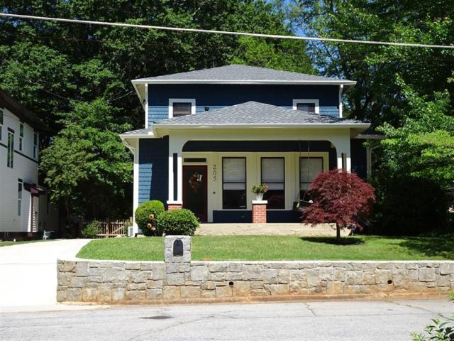 205 Ridgeland Avenue, Decatur, GA 30030 (MLS #6559146) :: Rock River Realty