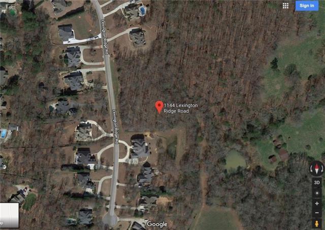 1144 Lexington Ridge Road, Hoschton, GA 30548 (MLS #6559420) :: The North Georgia Group