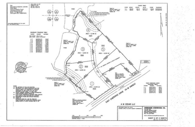 Lot 2 East Cherokee, Canton, GA 30115 (MLS #6562432) :: KELLY+CO
