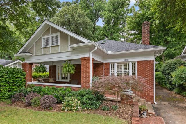 870 Courtenay Drive, Atlanta, GA 30306 (MLS #6566672) :: Dillard and Company Realty Group