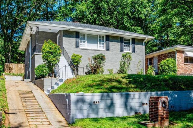 180 Burbank Drive NW, Atlanta, GA 30314 (MLS #6570146) :: North Atlanta Home Team