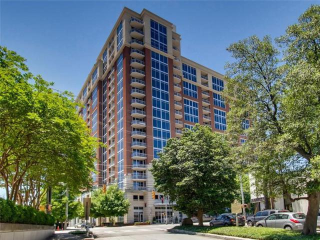 1820 Peachtree Unit 1506 Street NW #1506, Atlanta, GA 30309 (MLS #6570606) :: The Zac Team @ RE/MAX Metro Atlanta