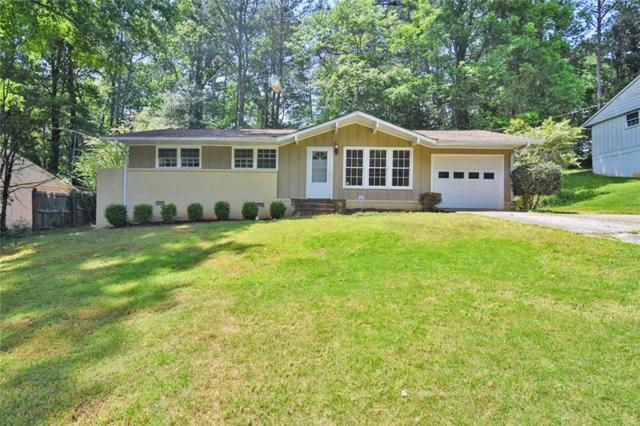 2450 Rolling View Drive SE, Smyrna, GA 30080 (MLS #6570833) :: The Heyl Group at Keller Williams