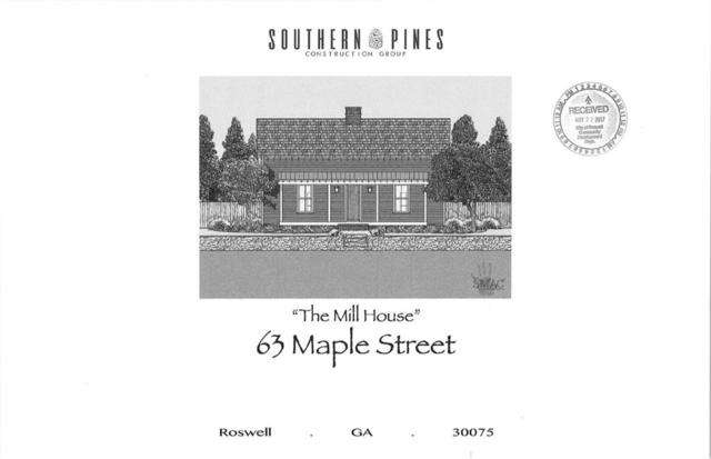 63 Maple Street, Roswell, GA 30075 (MLS #6580872) :: The Cowan Connection Team