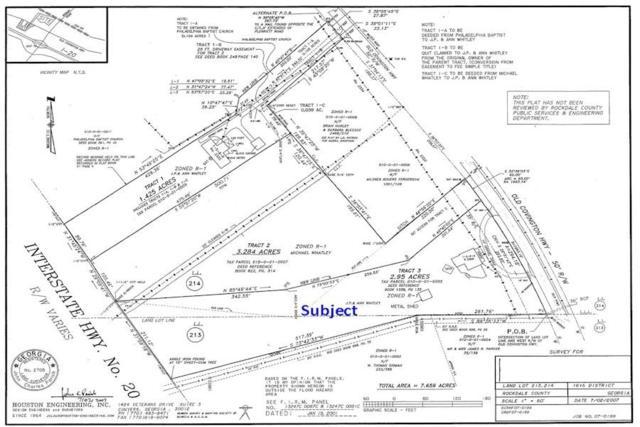 2304 SW Old Covington Highway SW, Conyers, GA 30012 (MLS #6582007) :: RE/MAX Prestige