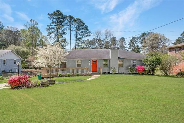 623 Counsel Drive NE, Marietta, GA 30068 (MLS #6582829) :: Charlie Ballard Real Estate