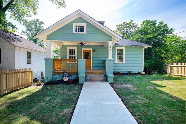 421 Atwood Street SW, Atlanta, GA 30310 (MLS #6582895) :: The Zac Team @ RE/MAX Metro Atlanta