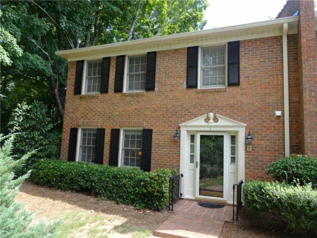 4101 Dunwoody Club Drive #1, Dunwoody, GA 30350 (MLS #6584668) :: North Atlanta Home Team