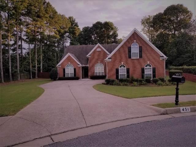 451 Waterstone Drive, Lawrenceville, GA 30046 (MLS #6585429) :: The Heyl Group at Keller Williams