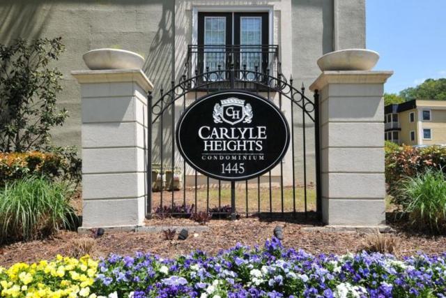 1445 Monroe Drive NE E8, Atlanta, GA 30324 (MLS #6588823) :: Iconic Living Real Estate Professionals