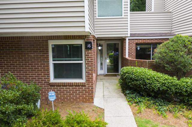16 NE Dunwoody Springs Drive NE #16, Sandy Springs, GA 30328 (MLS #6591083) :: KELLY+CO