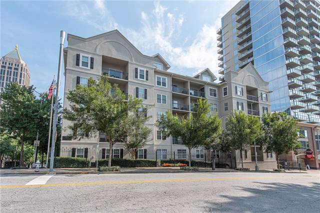 1075 Peachtree Walk NE A114, Atlanta, GA 30309 (MLS #6593973) :: The Zac Team @ RE/MAX Metro Atlanta