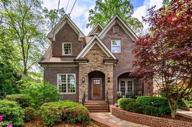 1123 University Drive NE, Atlanta, GA 30306 (MLS #6596125) :: Dillard and Company Realty Group