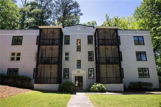 68 Peachtree Memorial Drive NW 68-3, Atlanta, GA 30309 (MLS #6596489) :: North Atlanta Home Team
