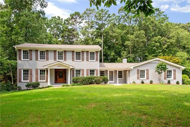 3242 Custer Lake Drive NW, Marietta, GA 30064 (MLS #6596587) :: North Atlanta Home Team
