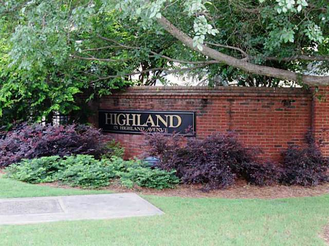 375 Highland Avenue NE #1008, Atlanta, GA 30312 (MLS #6596922) :: RE/MAX Paramount Properties
