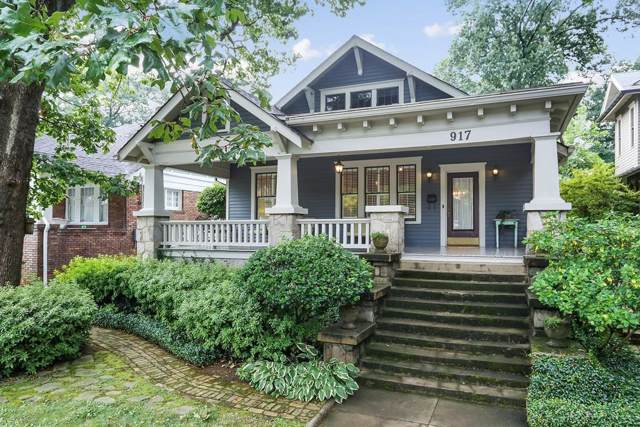 917 Saint Charles Avenue NE, Atlanta, GA 30306 (MLS #6597427) :: North Atlanta Home Team