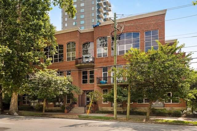 1023 Juniper Street NE #105, Atlanta, GA 30309 (MLS #6597695) :: North Atlanta Home Team