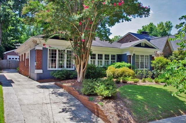 803 Cumberland Road NE, Atlanta, GA 30306 (MLS #6599428) :: Good Living Real Estate