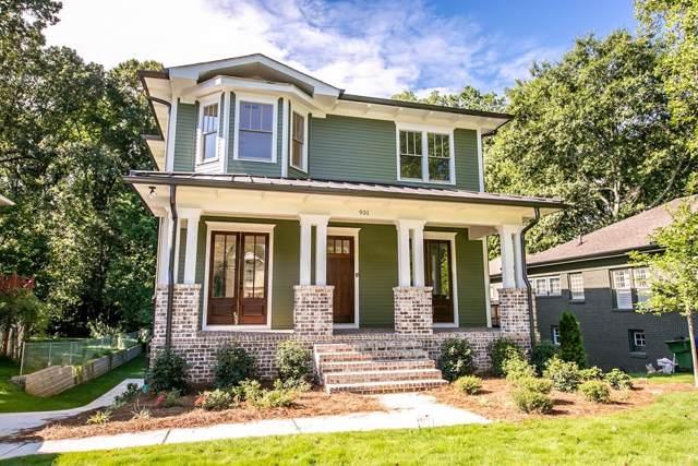 931 Courtenay Drive NE, Atlanta, GA 30306 (MLS #6599962) :: Dillard and Company Realty Group