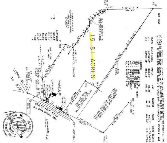 5667 Old Dahlonega Highway, Murrayville, GA 30564 (MLS #6600338) :: RE/MAX Paramount Properties