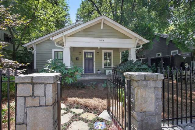839 Lake Avenue NE, Atlanta, GA 30307 (MLS #6601093) :: Dillard and Company Realty Group