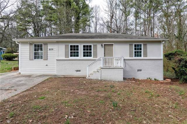 2239 Gordon Circle SE, Smyrna, GA 30080 (MLS #6601783) :: Path & Post Real Estate