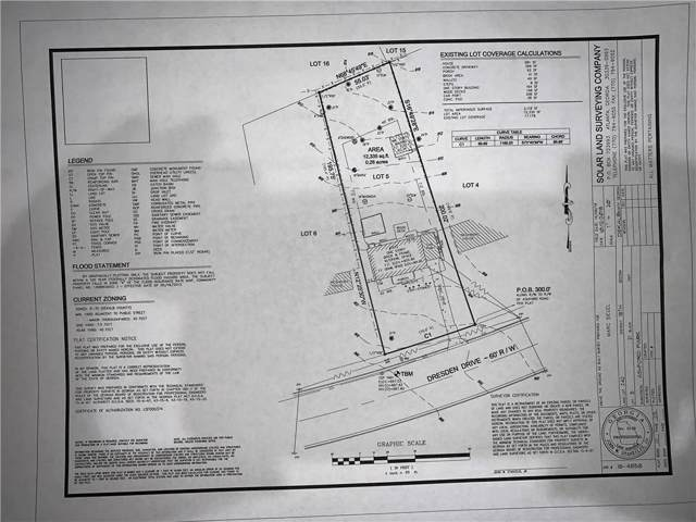 1612 Dresden Drive NE, Brookhaven, GA 30319 (MLS #6602839) :: Dillard and Company Realty Group