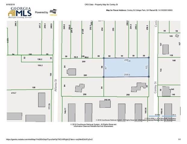 0 Conley Street, College Park, GA 30337 (MLS #6603884) :: RE/MAX Paramount Properties