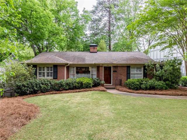 1234 Reeder Circle NE, Atlanta, GA 30306 (MLS #6604495) :: North Atlanta Home Team