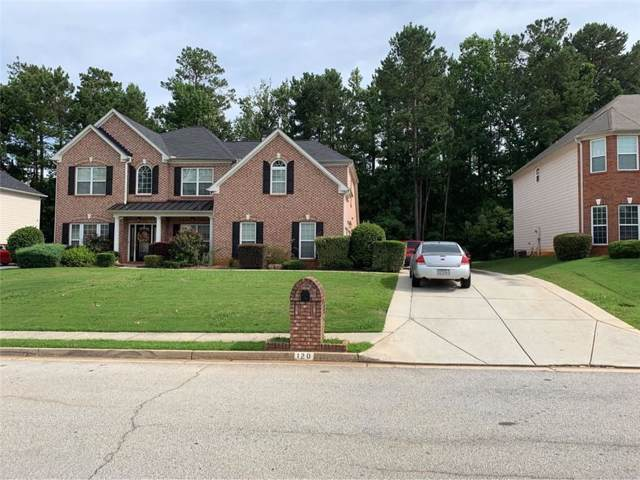120 Fairway Trail, Covington, GA 30014 (MLS #6604780) :: RE/MAX Paramount Properties