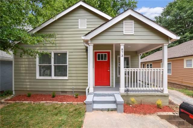 873 Thurmond Street NW, Atlanta, GA 30314 (MLS #6605411) :: RE/MAX Paramount Properties