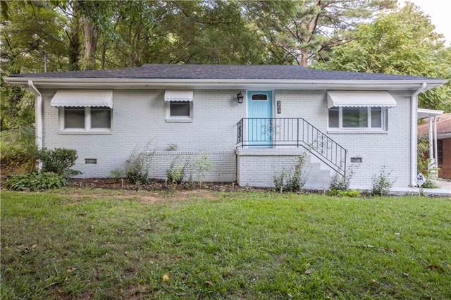 204 W Lake Drive NW, Atlanta, GA 30314 (MLS #6605683) :: North Atlanta Home Team