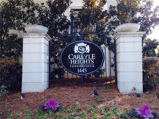 1445 Monroe Drive NE E26, Atlanta, GA 30324 (MLS #6606555) :: North Atlanta Home Team