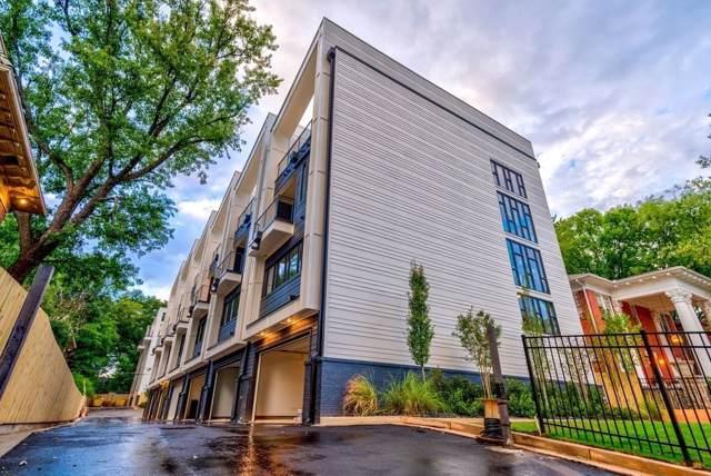 910 Ponce De Leon Avenue NE #6, Atlanta, GA 30306 (MLS #6606931) :: The Heyl Group at Keller Williams