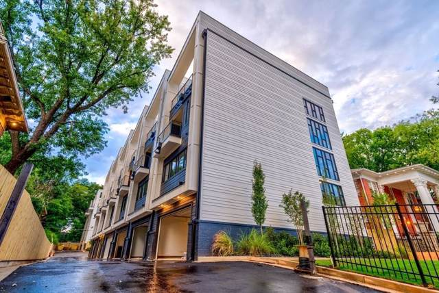 910 Ponce De Leon Avenue NE #7, Atlanta, GA 30306 (MLS #6606950) :: Kennesaw Life Real Estate